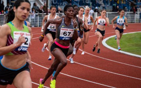 versenyen futás