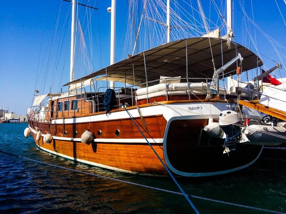 Gulet Sailboat Kos Greece