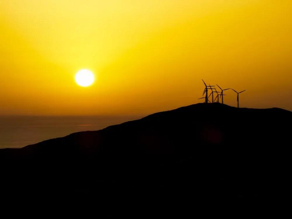 Beautiful Greek Sunset