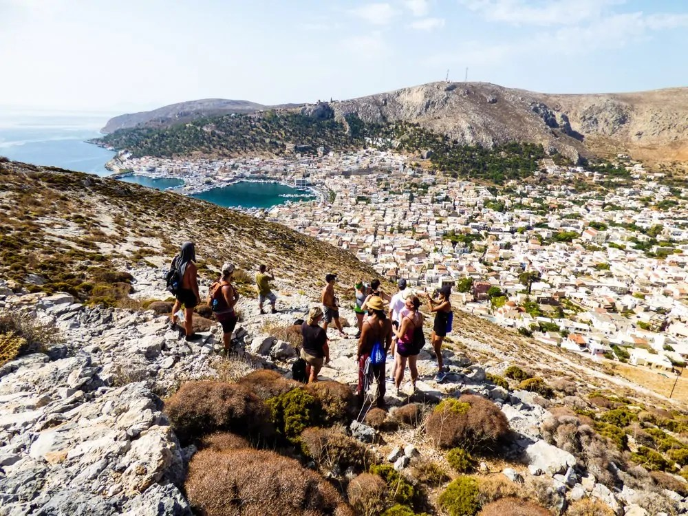Hiking the Italian path in Greece was one of the best things to do in Greece