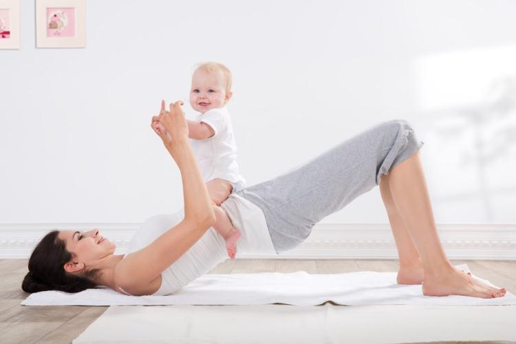 El entrenamiento post embarazo