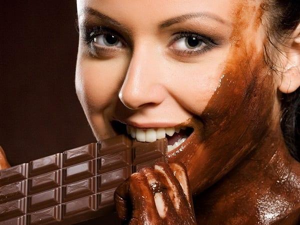 Cioccolato fondente per i denti
