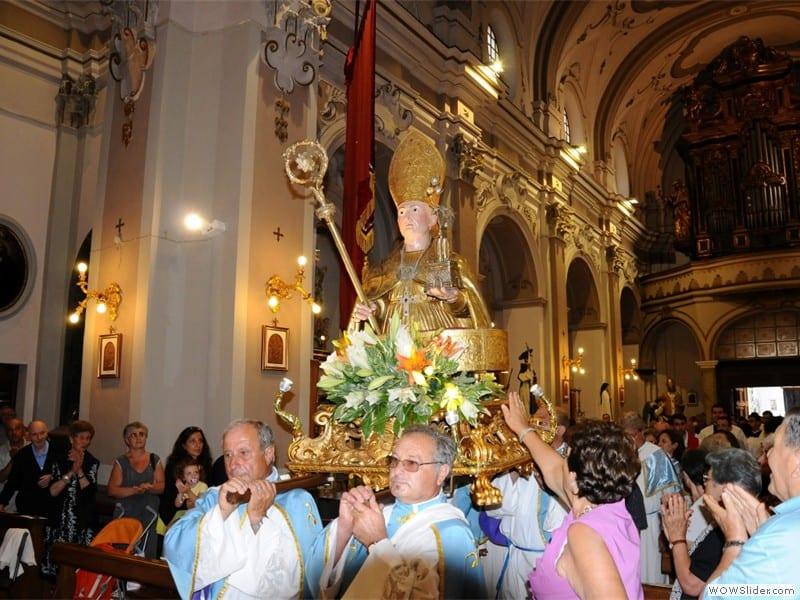 Visita a Castellabate - Processione San Costabile Gentilcore