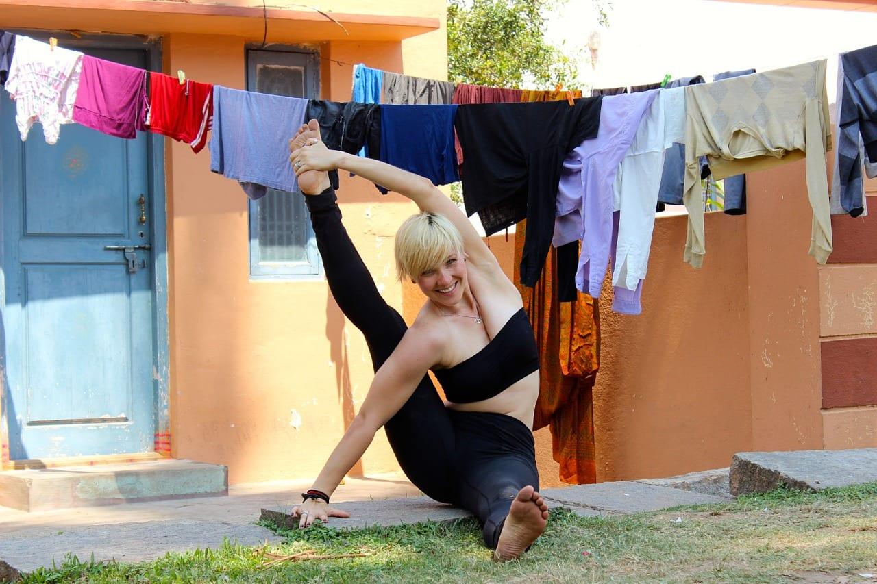 Pilates ragazza