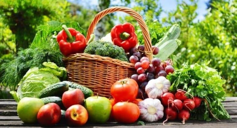 Cibi colorati - Frutta e verdura