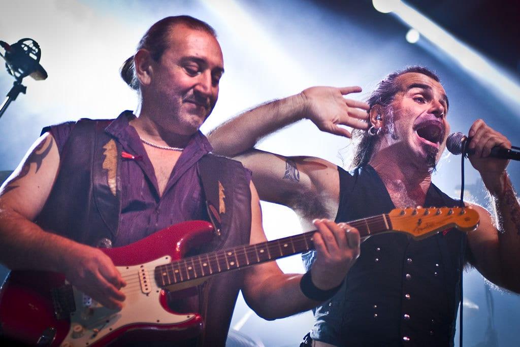 I migliori album dei Litfiba: la band durante il concerto