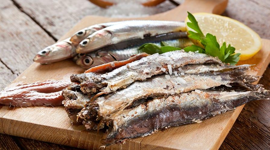 Gambe snelle - Sarde fresche marinate