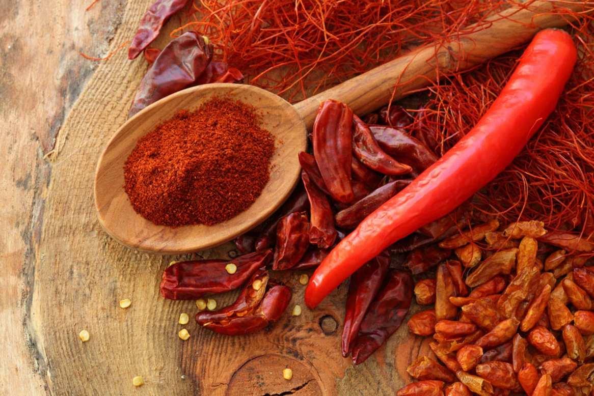 Peperoncino rosso e Paprica