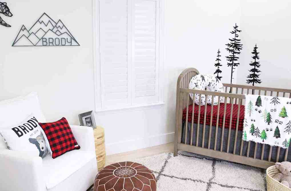 Caden Lane Baby Nursery Theme - Woodland