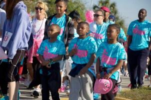 kids at race