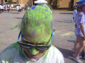 color runner hair