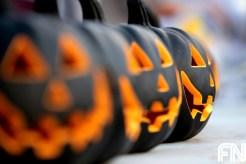 black pumpkins