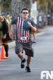 patriotic runner