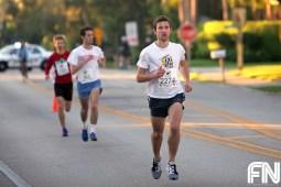 men running in front
