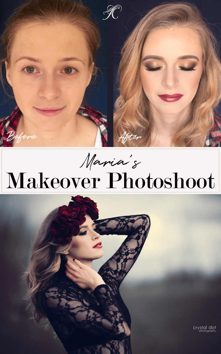 Maria's Makeover Photoshoot