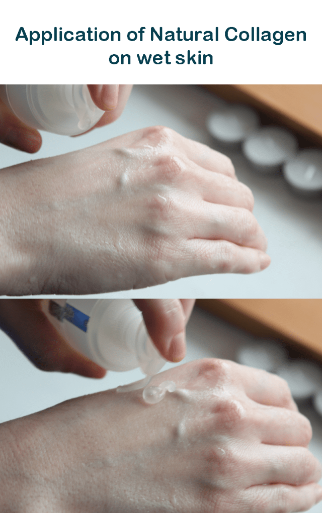 Application of Natural Collagen