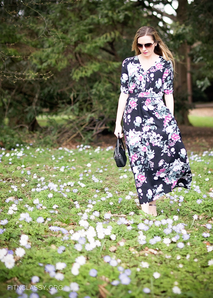 Spring Style: Long Floral Dress