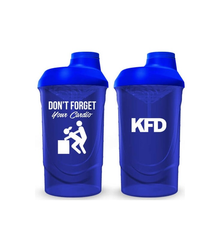 KFD - Don't forget your cardio Shaker 700 ml