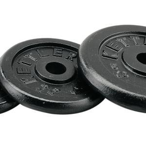 Kettler fitness Halterschijven Gietijzer 2 x 0,5 KG.