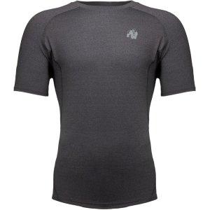 Bodybuilding T-Shirt Mannen Donkergrijs - Gorilla Wear Lewis