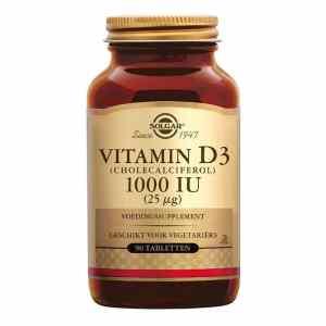 Solgar Vitamins - Vitamin D3 1000 IU (Tabletten)