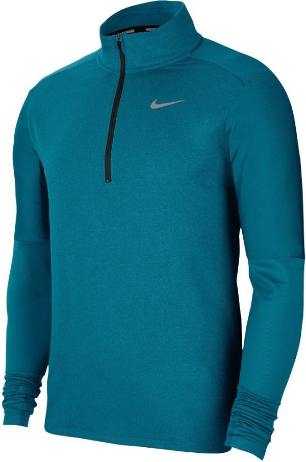 Nike DRI-FIT MENS 1/2-ZIP RUNNING heren hardloopshirt lange mouwen