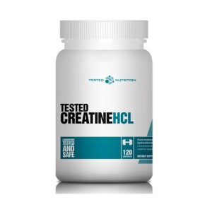 Tested - creatine hcl - 120 caps (750mg)