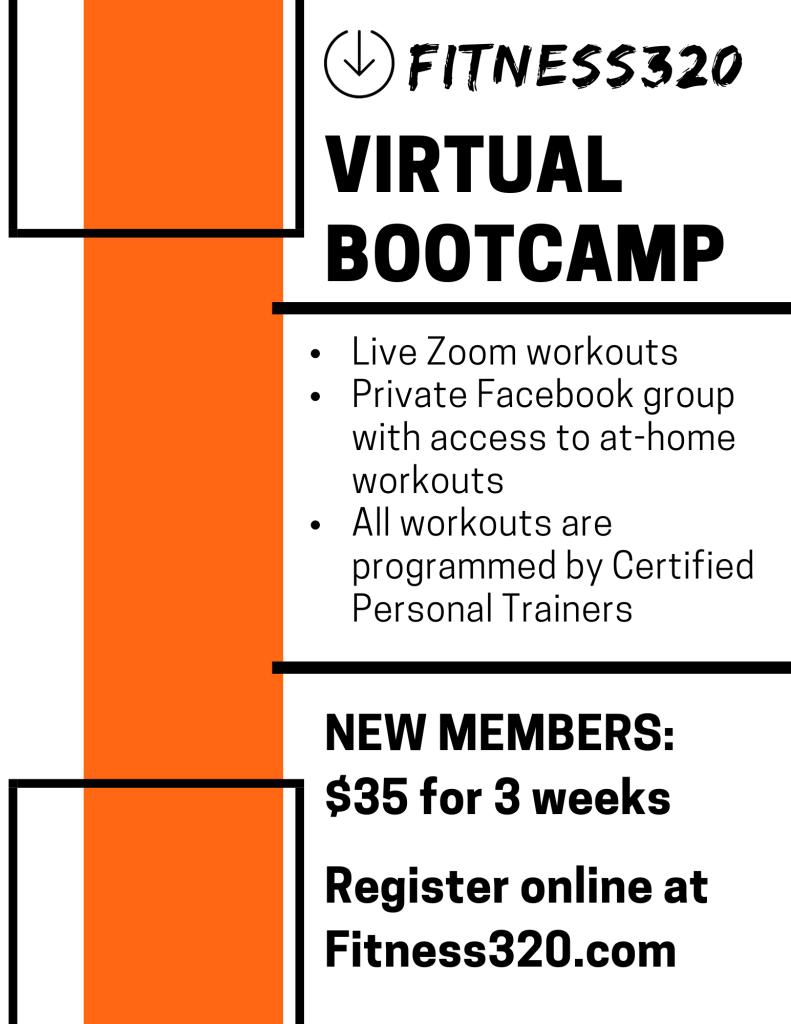 Fitness320 Virtual Bootcamp