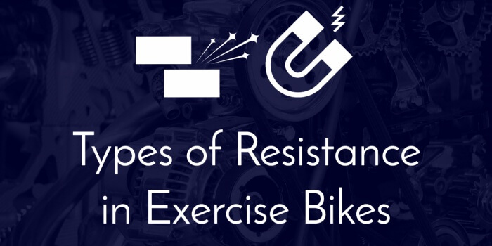 types of resistance in exercise bikes