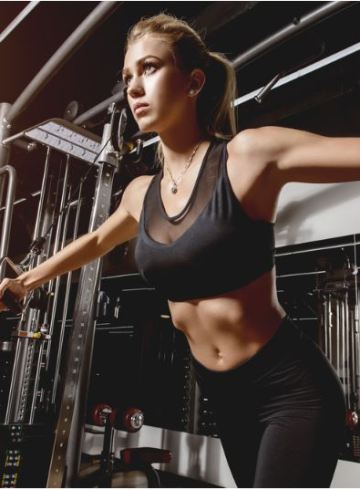 Workout on Cable Machine