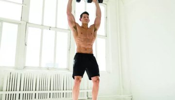 Dumbbell Clean and Press: An Exercise for Body Strength
