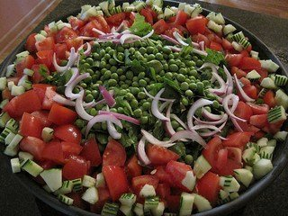 healthy green salad for weight loss