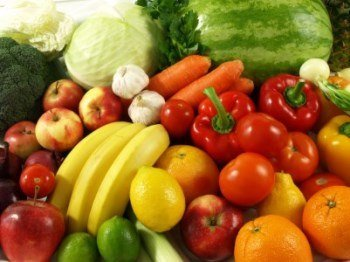 healthy weight loss with fruits and veggies