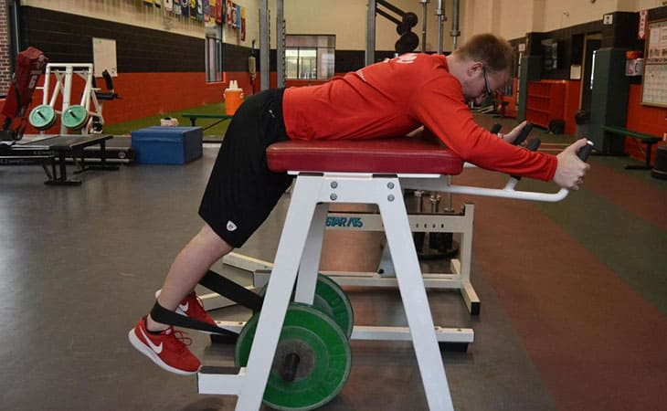Workouts Using Reverse Hyperextension Machine