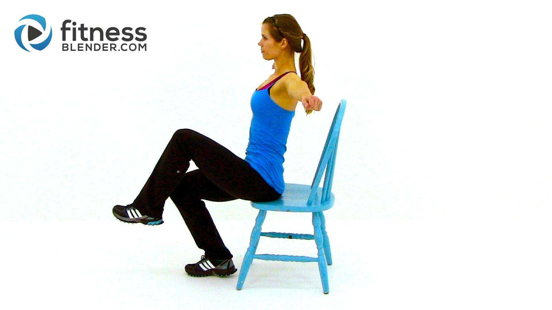 Exercise Chairs Workout At Work 32 Minute Chair Workout Video Fitness