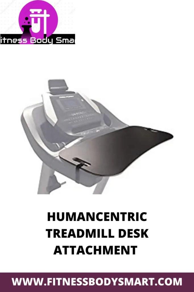 desktop attachment for treadmill