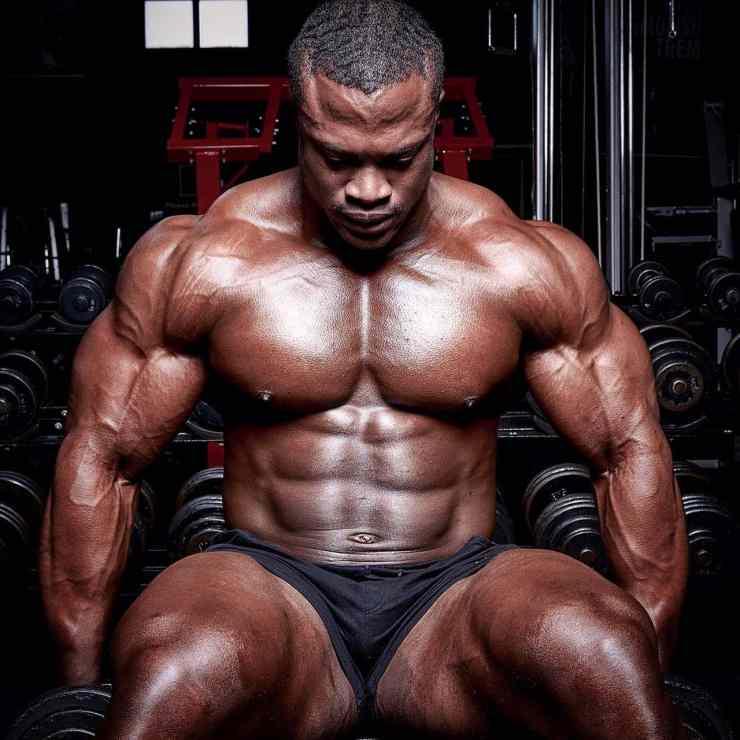 bodybuilder Sibusiso Kotelo