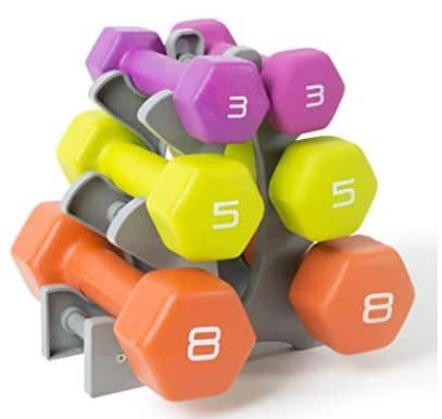 Dumbbells for a home gym