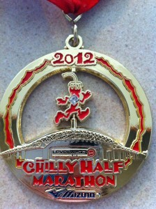 Chilly Half Marathon Medal