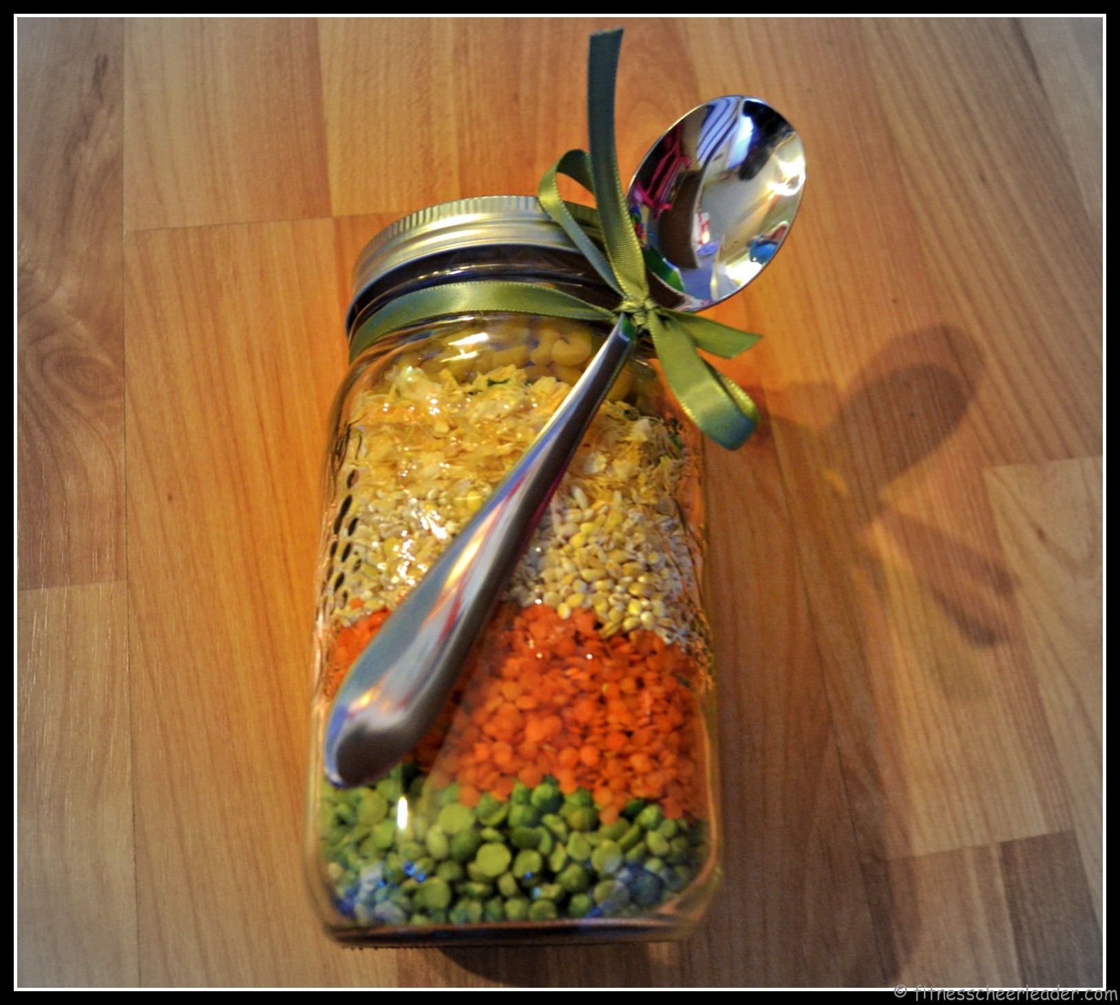 Beefy Bean Soup Mix in a Jar