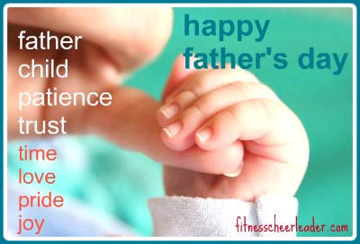 Happy Father's Day to all the dad's out there who share their love, time, pride and joy with their children - you rock!!