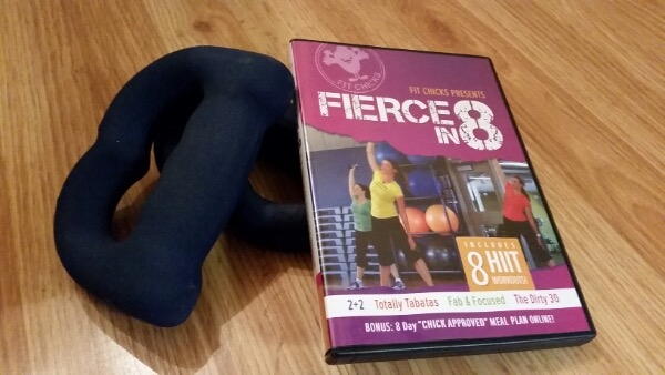 FIT CHICKS Fierce in 8 DVD Box Set