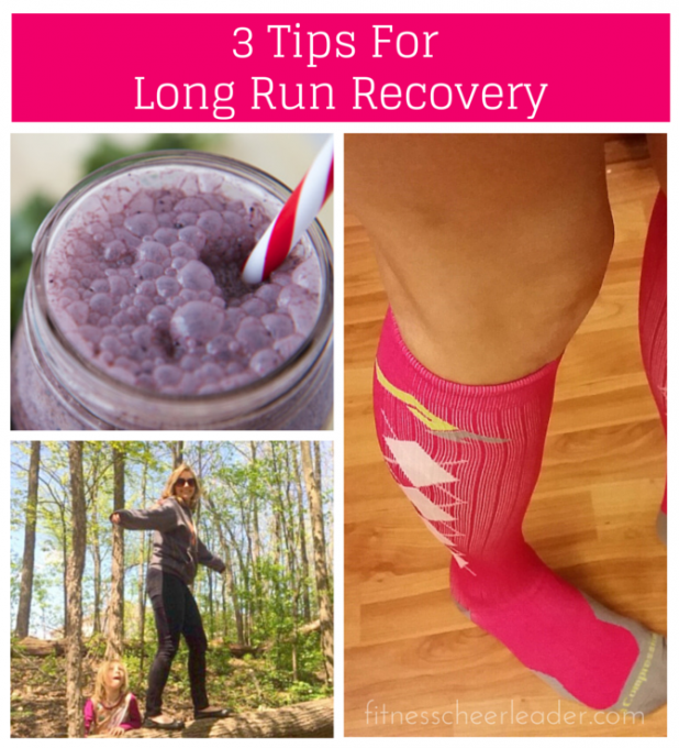 Replenish, move and compress - the secret to long run recovery via http://www.fitnesscheerleader.com #running