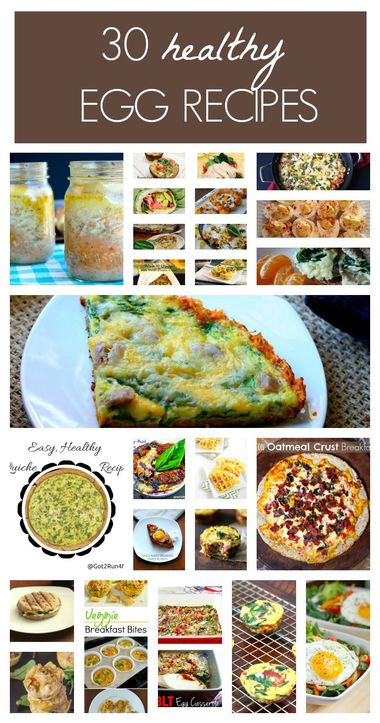 I love this round up of egg recipes, so healthy and so delicious!