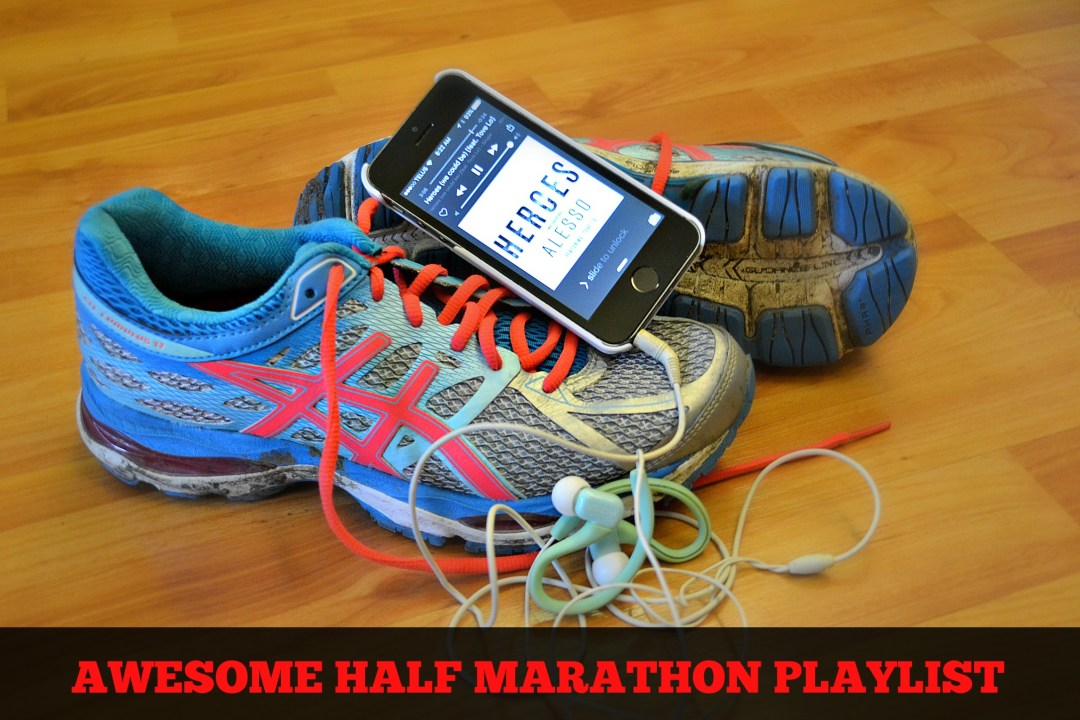 This playlist is AWESOME! Half Marathon Playlist - A study published last year discovered a direct correlation between fast-paced music and athletic performance. Apparently, the speed of the music (measured by bpm) influences the pace that you run.