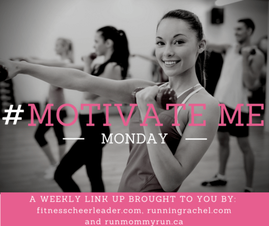 MotivateMe Monday - a weekly link up to share fitness tips, training recaps and meal plans