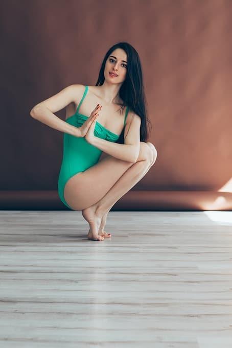 tiptoe yoga
