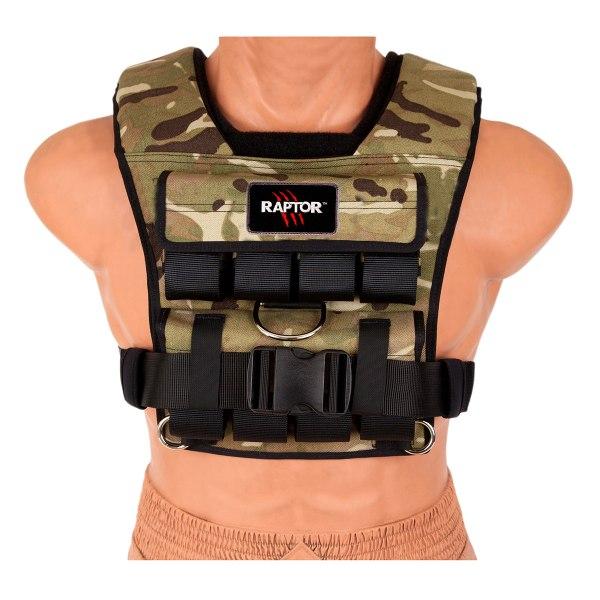 Raptor Tactical Weight Vest - 20kg Fitness Equipment Ni