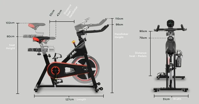 Jll Ic300 Indoor Cycling Exercise Bike Review Exercise Bike Reviews