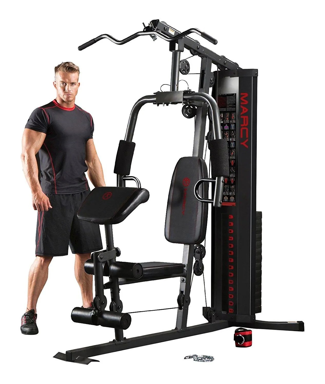 Marcy Eclipse HG3000 Compact Home Gym with Weight Stack
